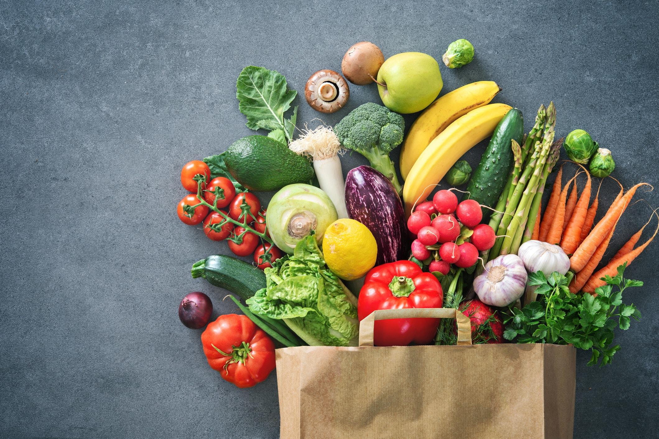 فواید مصرف منظم میوه و سبزی